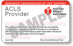 Advanced Cardiac Life Support - New Hampshire CPR, EMT and First Aid