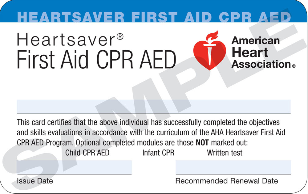 first aid / cpr / aed training course - new hampshire cpr, emt and
