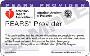 PEARS - New Hampshire CPR, EMT and First Aid